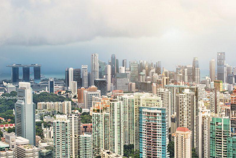 Сингапур, крыши