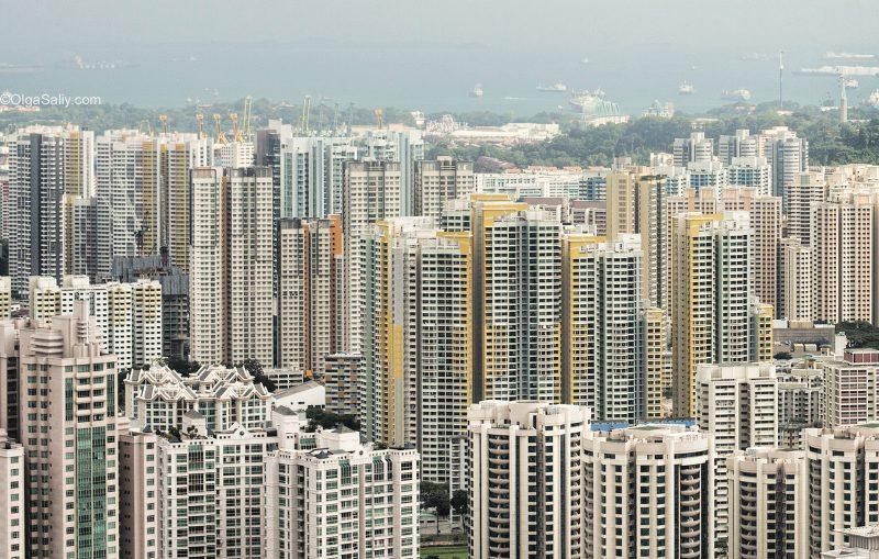 Жизнь в Сингапуре, спальные районы