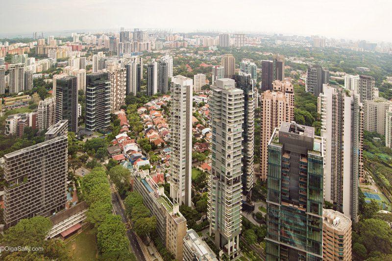 Спальные районы Сингапура