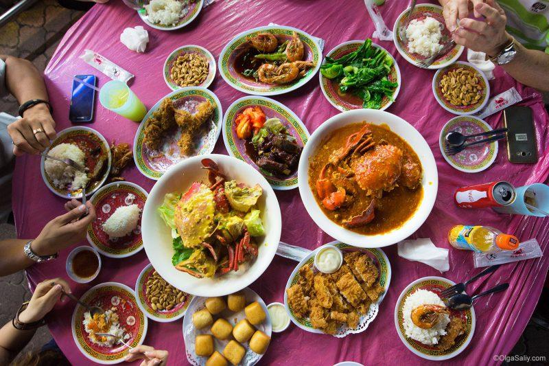 Кухня Сингапура, что поесть в Сингапуре