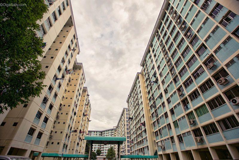 Жизнь в Сингапуре, жилые районы