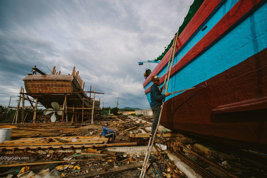 Интересные места Вунгтау: судостроительная верфь (10)