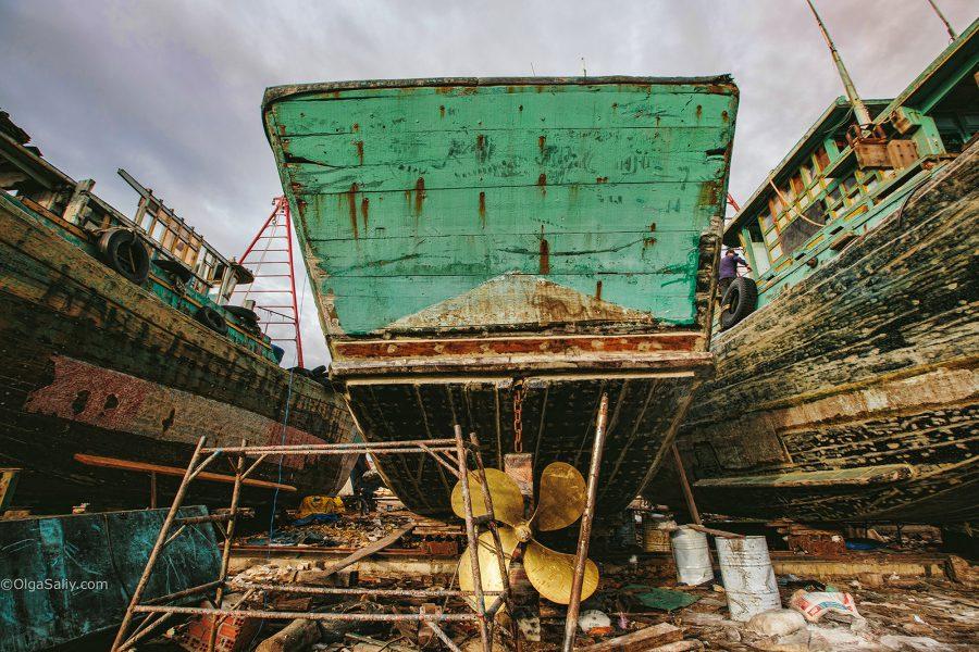 Интересные места Вунгтау: судостроительная верфь (4)
