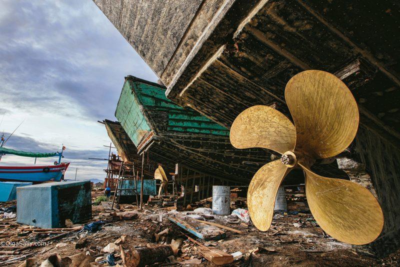 Строительство больших деревянных кораблей, Вьетнам