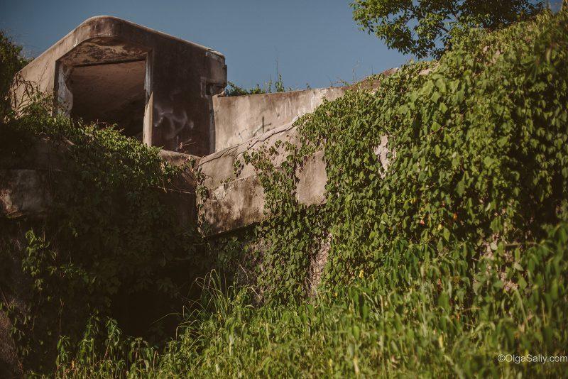 Заброшенный форт, интересные места