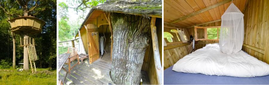 Tree house Gabrielle d'Estrees домик на дереве аренда