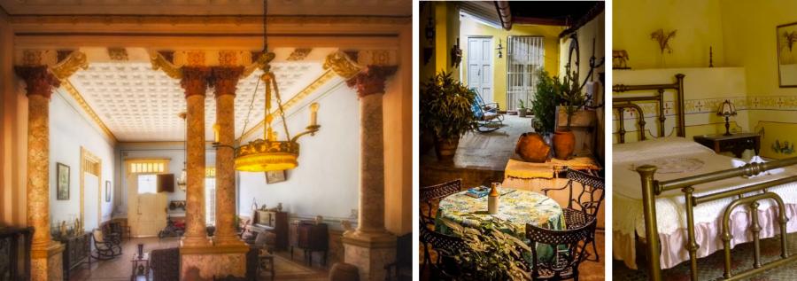 Casa Colonial 1830 дом с колоннами на Кубе