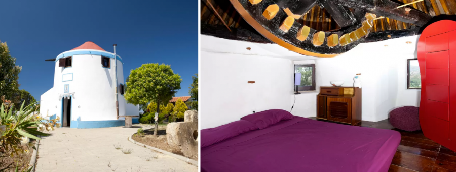 MAGIC WIND MILL - жилье в мельнице Португалия
