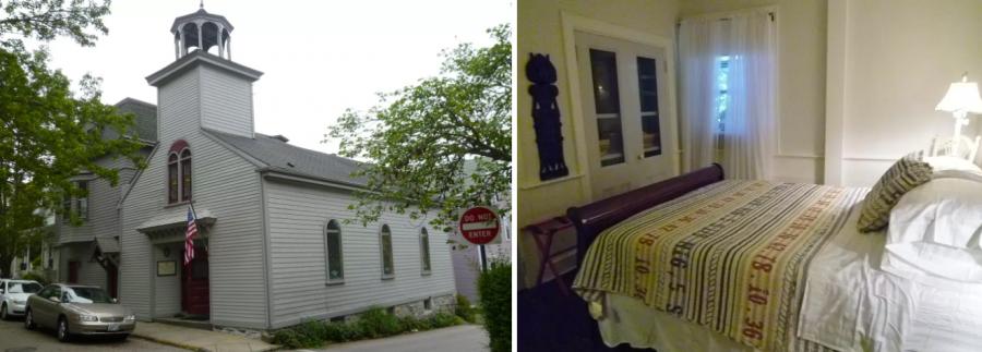 Снять комнату в бывшей школе, США