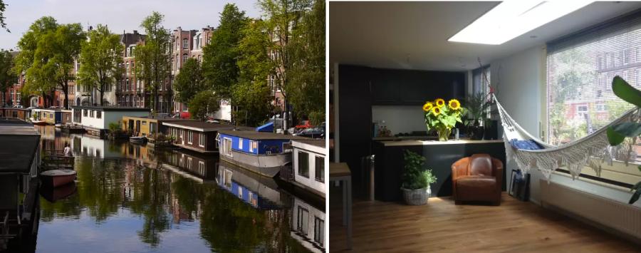 Аренда Дома-лодки в Амстердаме