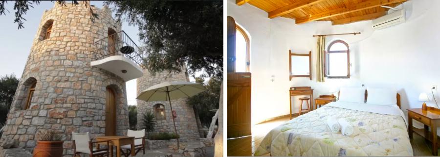 Пожить в сторожевой башне в Греции