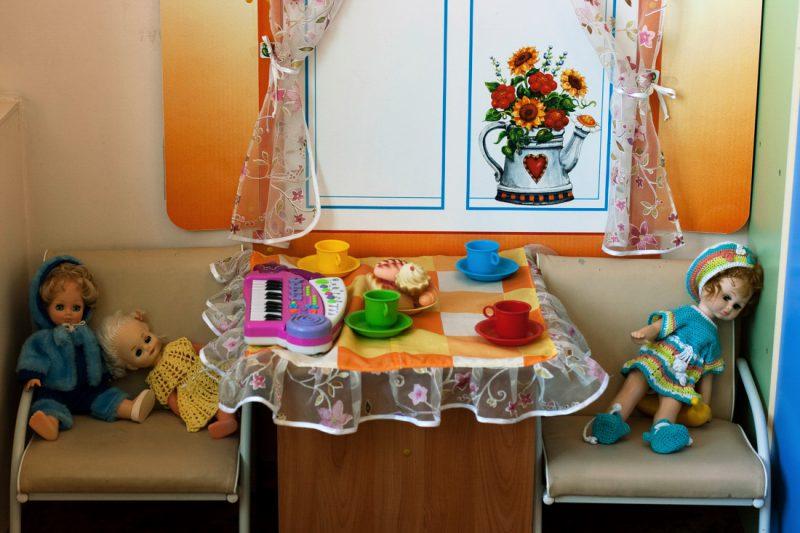 Русский детский сад в фотографиях