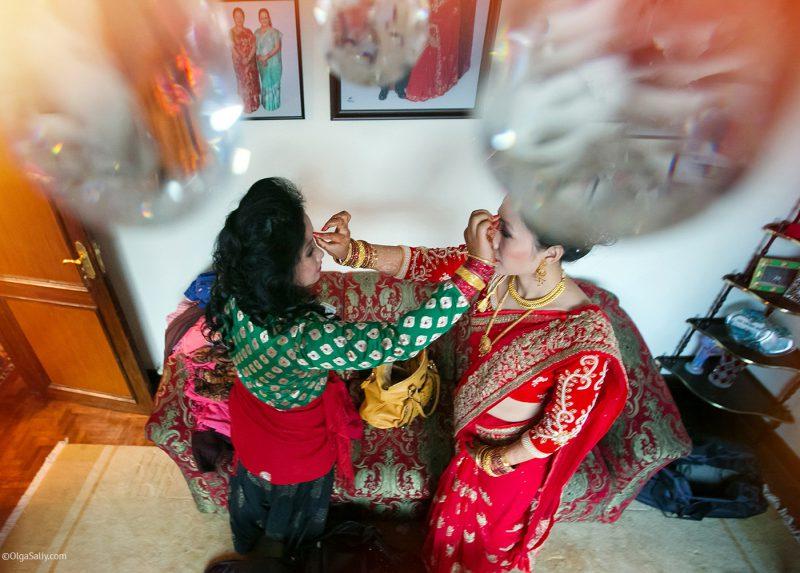 Непальская свадьба, международный свадебный фотограф Ольга Салий