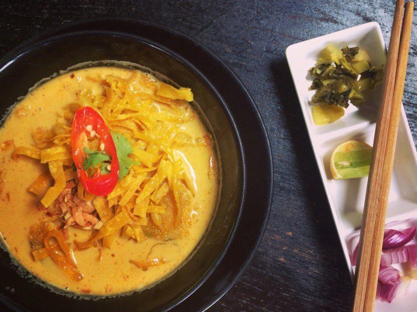 суп северного Таиланда Khao Soi