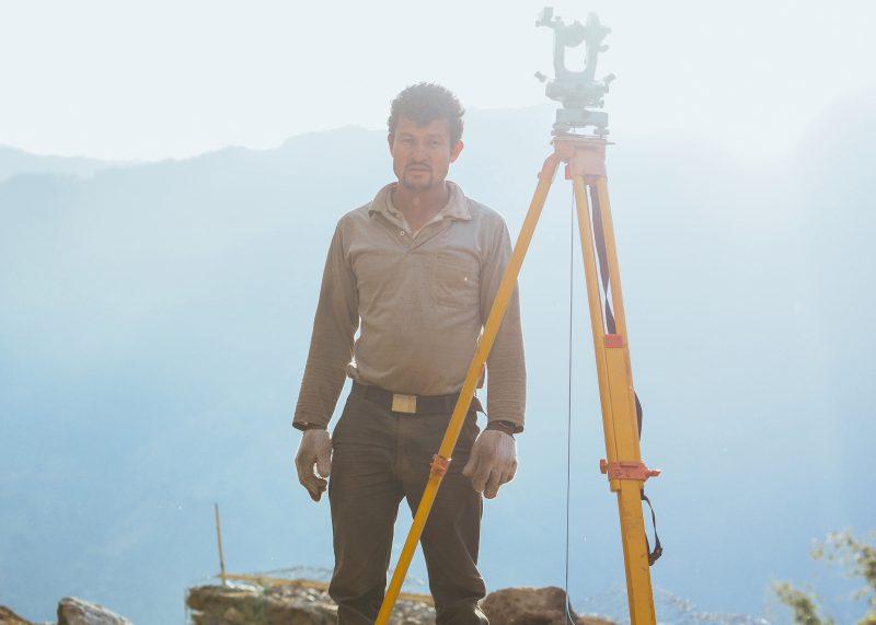 Строительство школы в Непале
