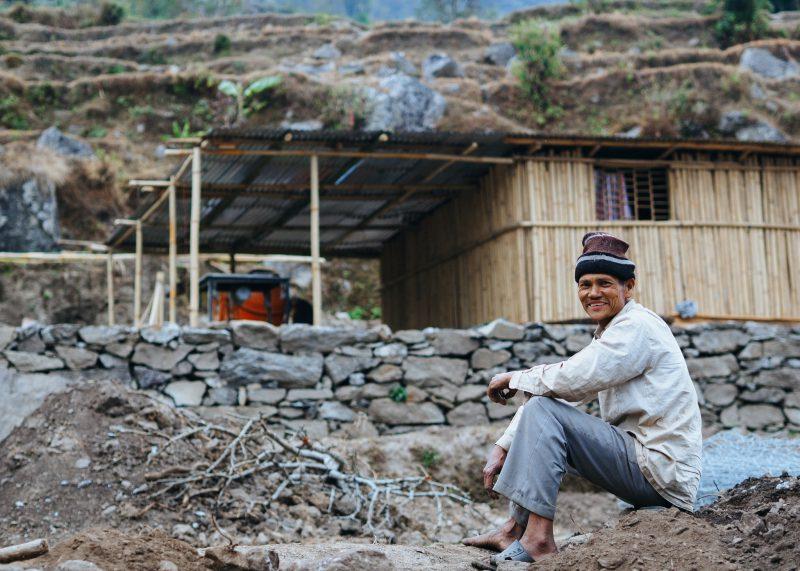Строительство школы в Непале. Волонтёры (20)