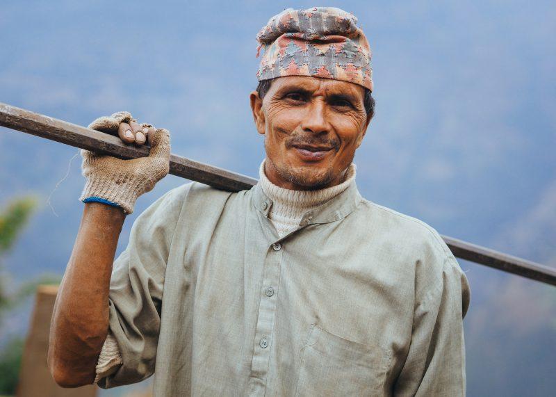 Строительство школы в Непале. Волонтёры (19)