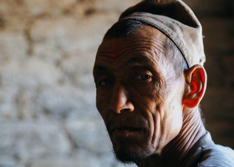 Портрет мужчины, Непал