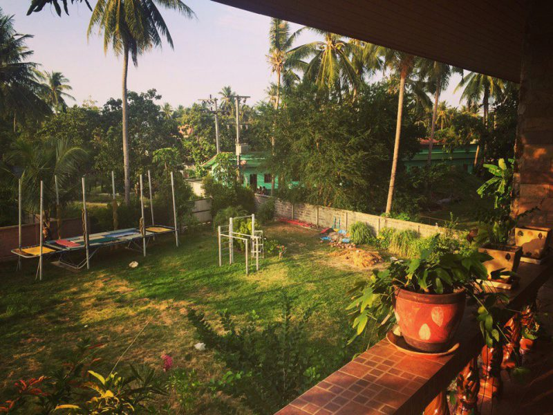 Вид с балкона, Самуи