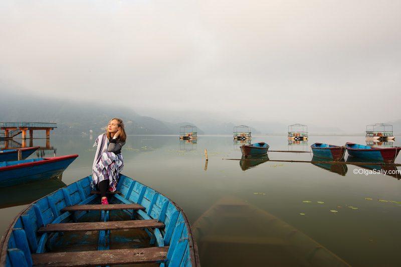 Покхара, лейксайд, Фева
