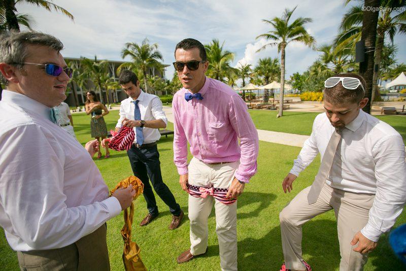 Европейская свадьба в тропиках