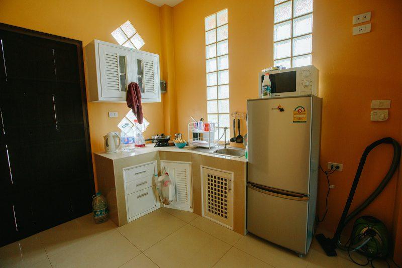 Кухня в студии на Самуи