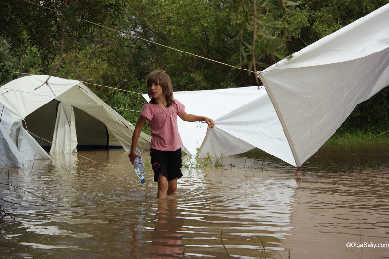 Путешествие самостоятельно Иссык-Куль во время дождя