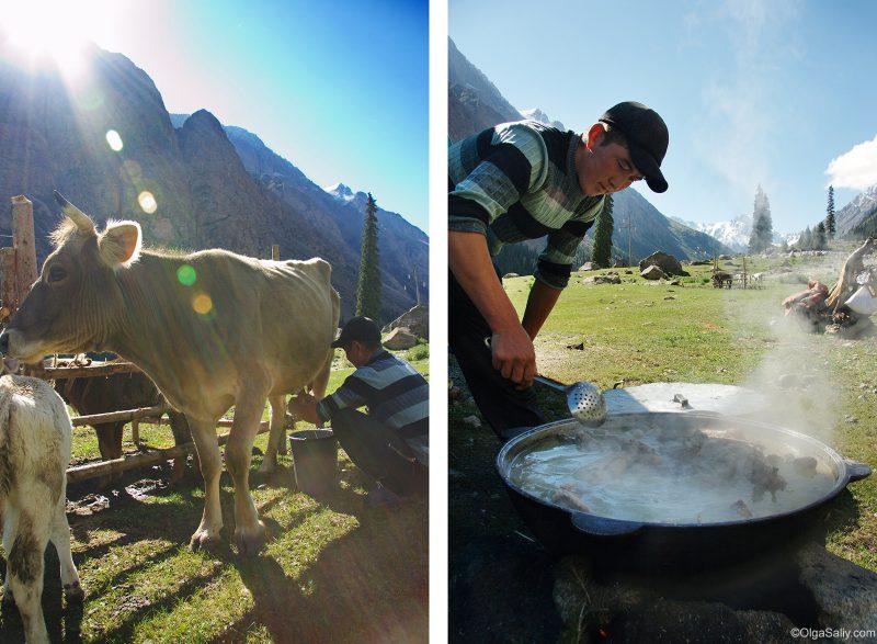 Ущелье Барскаун - как живут киргизы