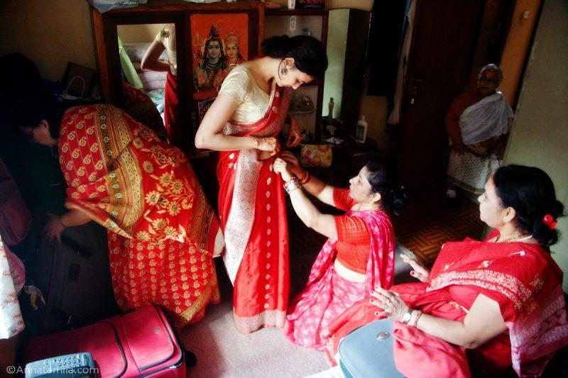 Свадьба в Непале, фоторепортаж