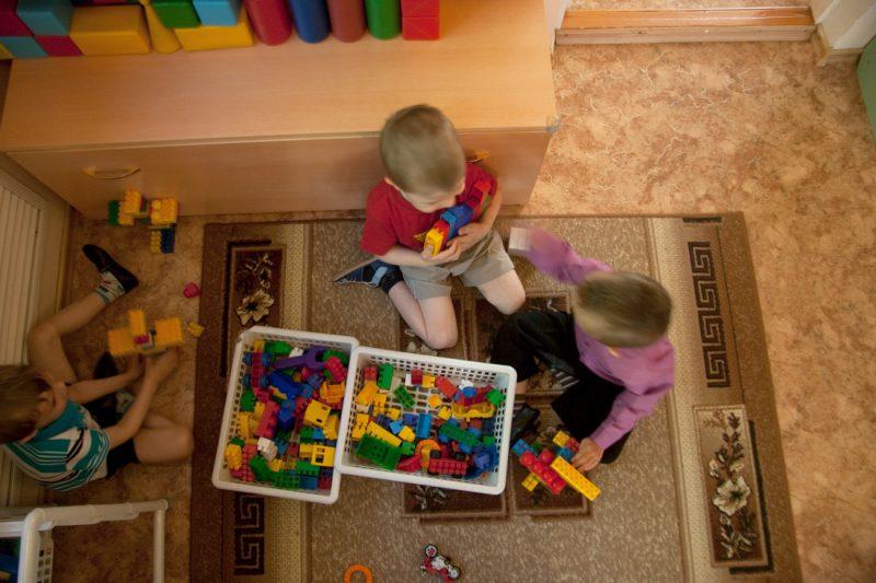 Мальчики в русском детском саду