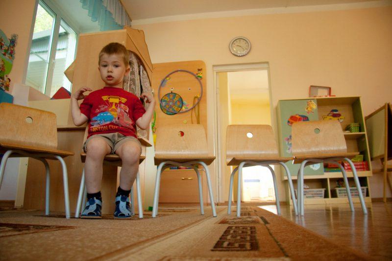 Мальчик в детском саду Новосибирск
