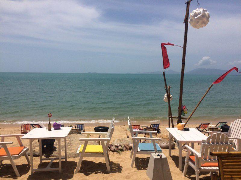 ТриХаус на Маенаме, пляж