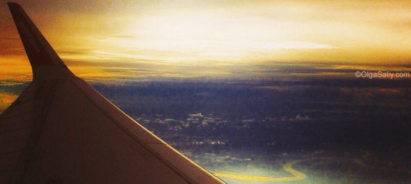 Лечу на самолёте куда-то