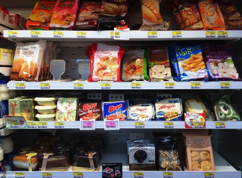 Фото обзор цен в магазинах 7-11 в Тайланде (33)