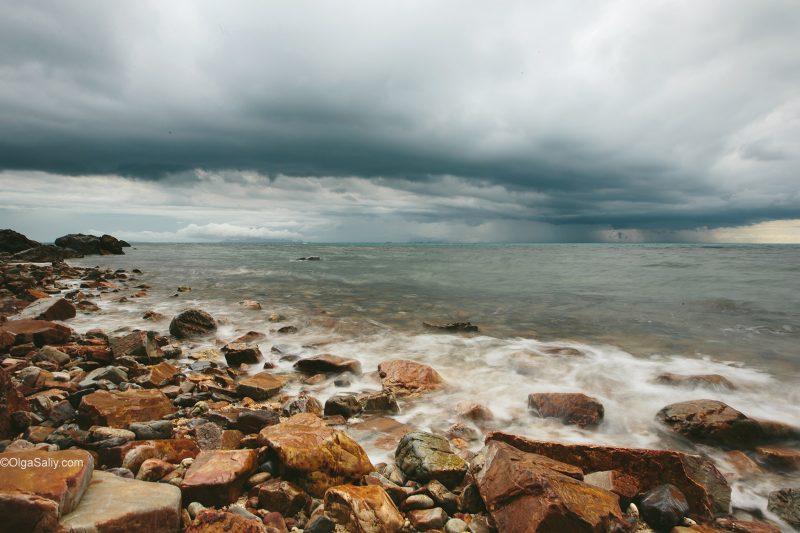Сиамский залив, таиланд. море