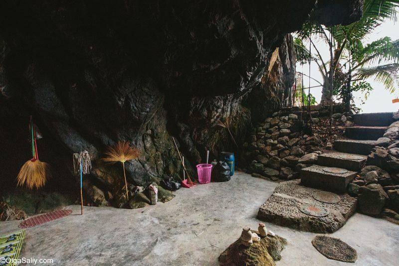 Пещера отшельника, Таиланд