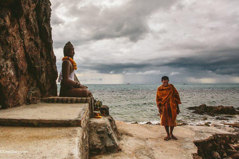 Буддийский монах отшельник