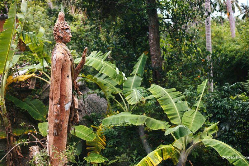 Тайные места Ко Самуи: расстрелянные статуи