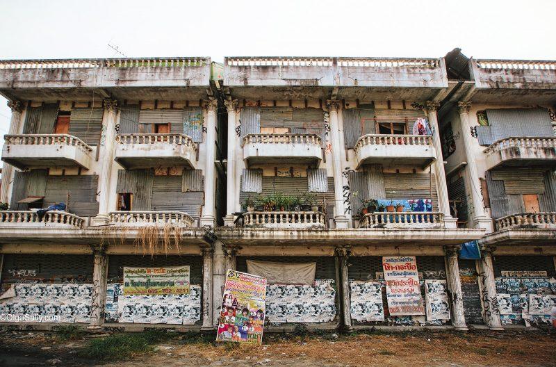 Заброшенный дом в Бангкоке