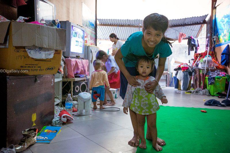 Детский сад в заброшенном доме возле Южного автовокзала