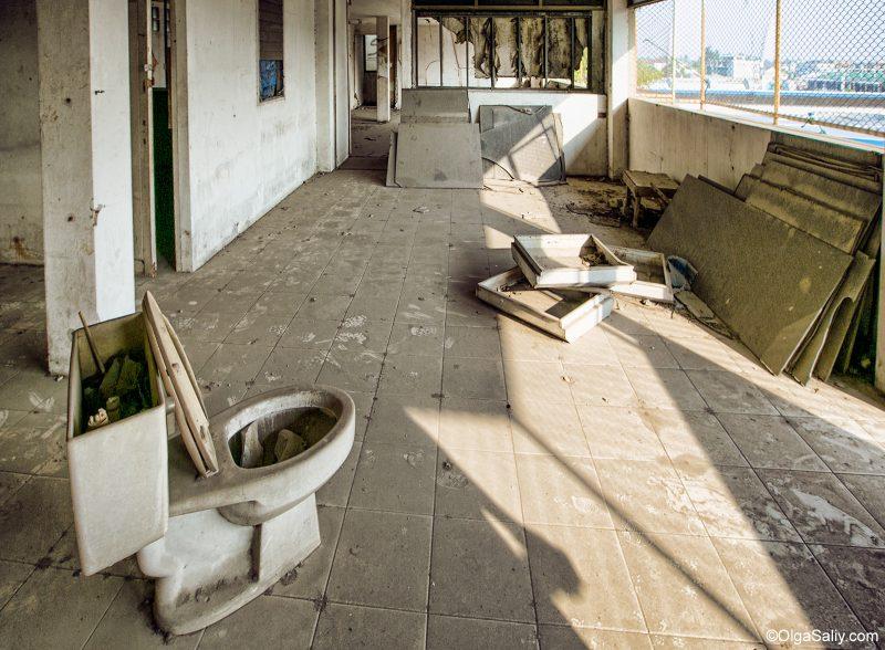 Заброшенные этажи