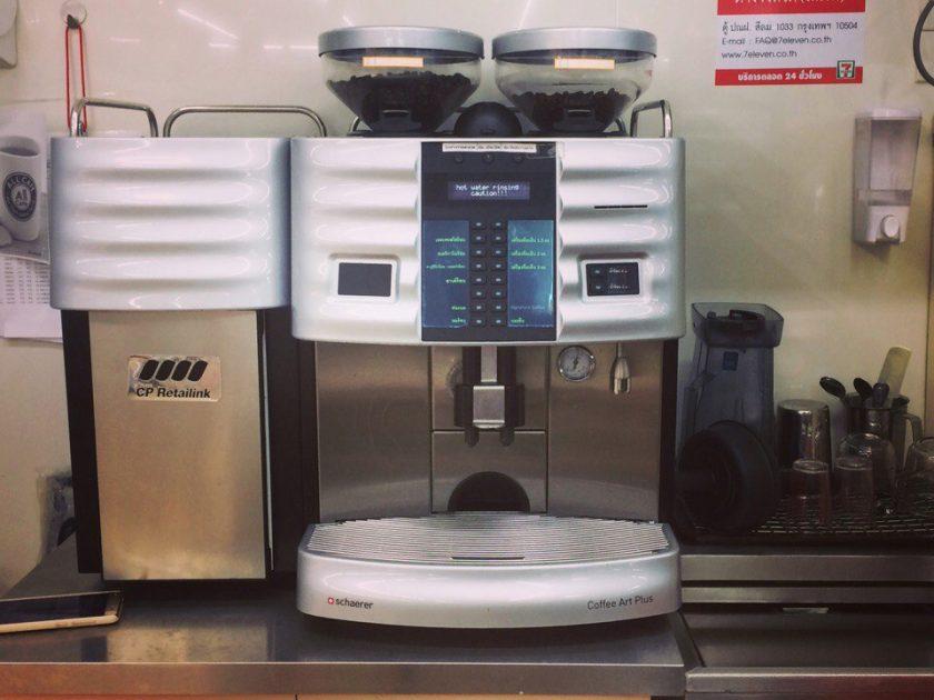 Кофе машины в 7-11 Таиланда