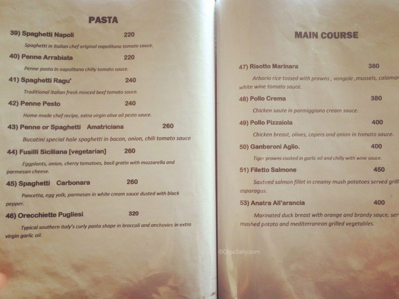 итальянская кухня в Casa Italia на Самуи (3)