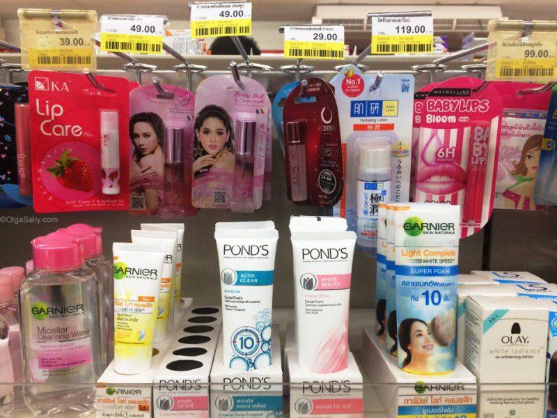 Фото обзор цен в магазинах 7-11 в Тайланде (1)