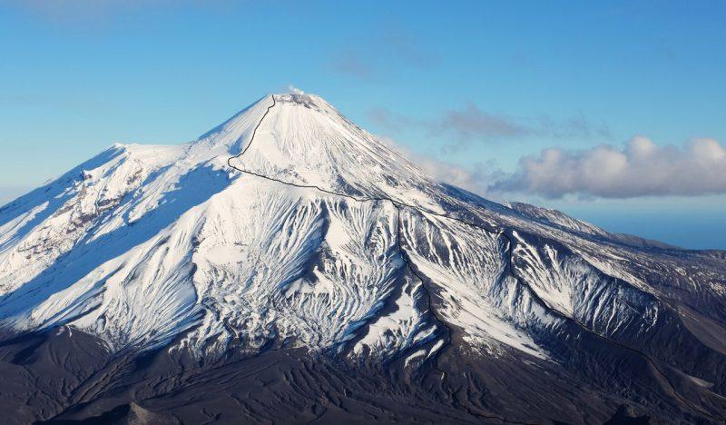 Путь на вулкан Ачинский