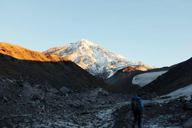 дорога на Корякский вулкан