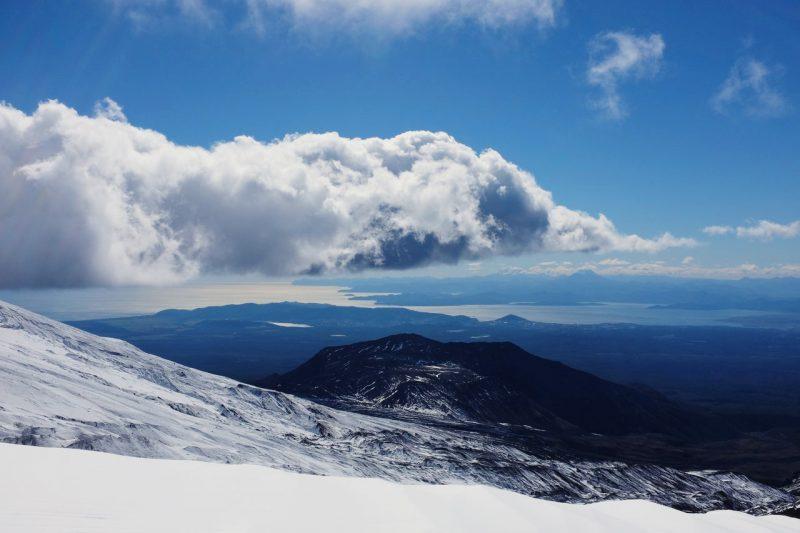 Вид с вулкана Авачинский