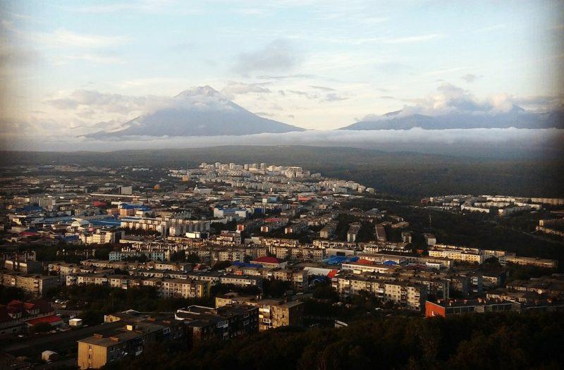 Авачинский и Корякский вулканы