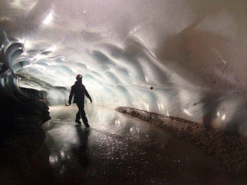 Пещеры ледяные
