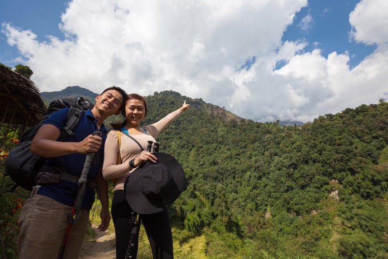 Путь на Чомронг к Аннапурне